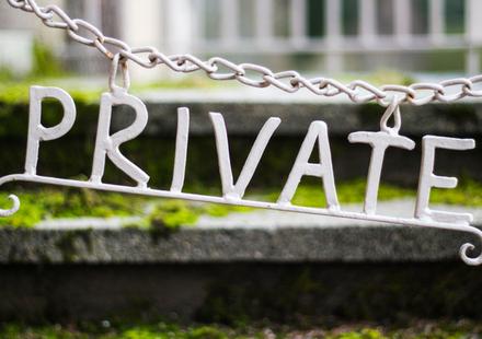 private vs personal in social media and pr