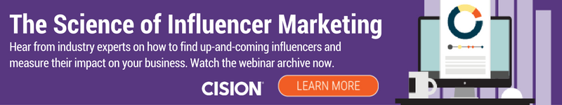 science of influencer marketing cta