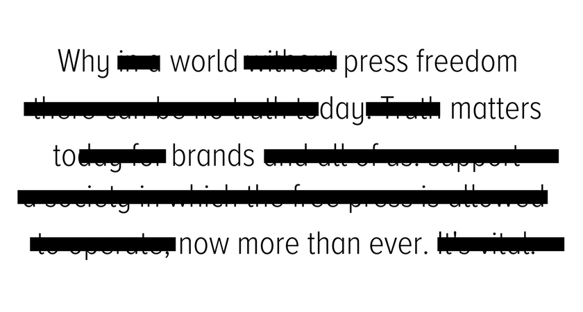 Why World #PressFreedom Day Matters to Brands Now More than Ever ...