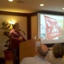 Mobile Post: My hero, Steve Sando from Rancho Gordo heirloom beans at Edible Institute.