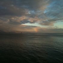 Mobile Post: 'Ball' Rainbow from Wharf