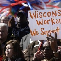 culture of protest: on wisconsin