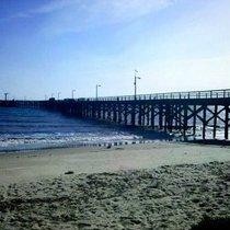 Mobile Post: Goleta beach: it's not bikini weather but it'll do in a pinch.