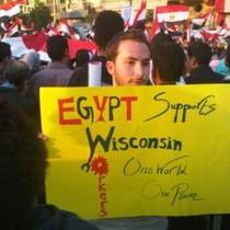 culture of protest: egypt wisconsin the people speak