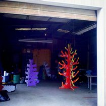 Mobile Post: Fishbon has a new art space for their Burning Man project.