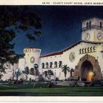 Vintage Santa Barbara Postcard