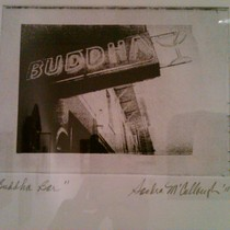 Mobile Post: Buddha Abides @ SB Frame Shop