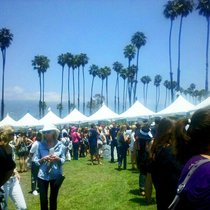 Mobile Post: California Wine Festival, or Wow People Got Really Drunk Here
