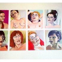 Mobile Post: Monika Molnar-Metzenthin's nude portraits @ Jitters