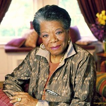Maya Angelou at the Arlington