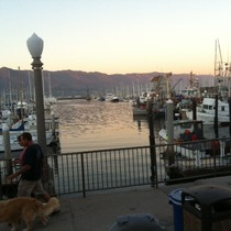 Mobile Post: Beautiful Eve At The Santa Barbara Harbor