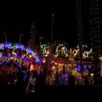 Mobile Post: Eastside Christmas lights