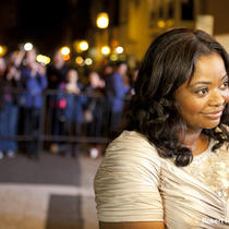 Octavia Spencer on the red carpet before The Help showing