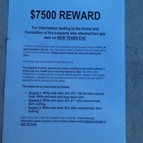 Mobile Post: Reward offered