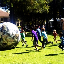 Mobile Post: Earth Day at Alameda Park