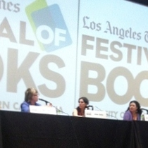 Postcard from the LA Times Festival of Books