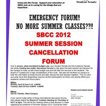 SBCC summer session cancellation