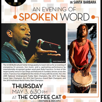 Literary SB: Spoken Word + UCSB MultiCultural Center + Coffee Cat + 1st Thursday= Do that again, please!