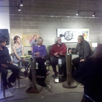 Mobile Post: Artist Panel @ Michael Kate Interiors.