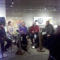 Mobile Post: Artist Panel @ Michael Kate Interiors.