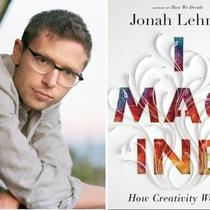 Jonah Lehrer's talk on IMAGINE: HOW CREATIVITY WORKS at UCSB's Arts &amp; Lectures on May 17 