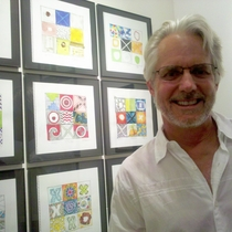 Mobile Post: Hugh Margerum and his collaborative tic tac toe.