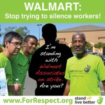 culture of protest: special on Wal-Mart workers available on line
