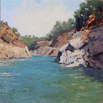 """Art Along the Creek: Restoring Lands, Restoring Lives"" Seventh Annual Benefit Art Show by SCAPE artists"