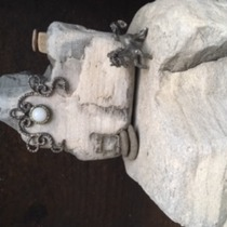 Whimsical Rock Art at the Explore Ecology Art From Scrap Gallery