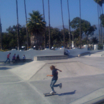 Skateboard Kid at Cabrillo Skate Park