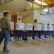 Full Polling Places in Downtown Santa Barbara