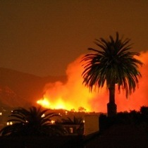 Santa Barbara Fire (more pics)