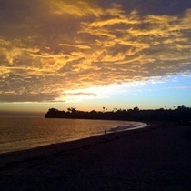 Mobile Photo: Spectacular Santa Barbara Sunset