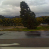 Mobile Photo:  Stormy Weather Just North of Goleta