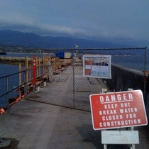 Mobile Post: Breakwater Closed