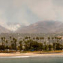 Panorama from Stearns Wharf