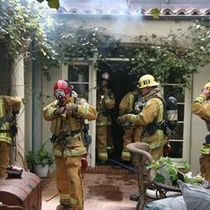 Santa Barbara And ALL Firepeople Are Sweethearts