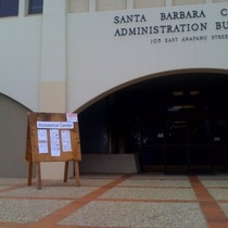 Mobile Post: Assistance Center at SB County Admin Building