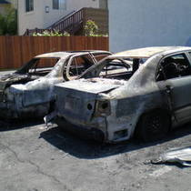 Serial Arsonist Torches 5 Cars in Ellwood - A First Hand Account