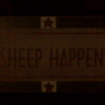 Mobile Post: Sheep happens
