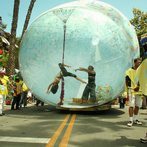 Santa Barbara Summer Solstice Photos 2009 | Faces of Solstice  (1 of 3)