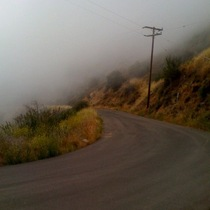 Mobile Post: Clouds Resting on Camino Cielo
