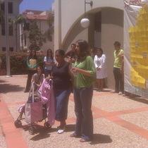 Mobile Post: Estela Jaimes Speaks as an Evictee in SB