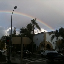 Mobile Post: Another SB Rainbow Shot