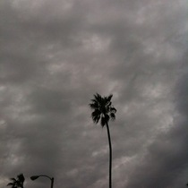 Mobile Post: Stormy Cool-Looking Clouds Today