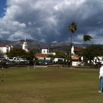 Mobile Post: Santa Barbara Lawn 'Bowls' Club