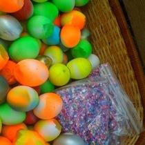 Fiesta Eggs + Confetti