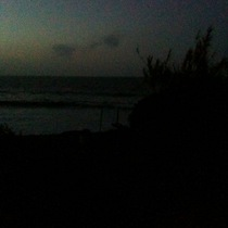 Mobile Post: Rincon cove 6 AM
