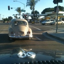 This Is Good Weather for Driving Your Old VW Bug