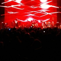 Mobile Post: Thom Yorke at the bowl